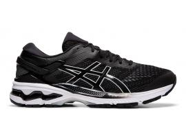 ASICS GEL Kayano 26 Women's Running Shoes - BLACK / WHITE (B & D WIDTHS AVAILABLE)