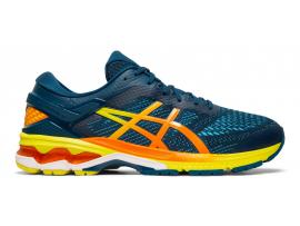 ASICS GEL Kayano 26 Men's Running Shoes - MAKO BLUE / SOUR YUZI