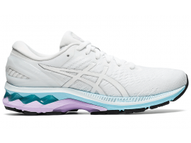 ASICS GEL Kayano 27 Women's - WHITE / PURE SILVER