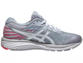 ASICS GEL Cumulus 21 Women's Shoes -  PIEDMONT GREY/WHITE