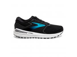 Brooks Ariel 20 Women's Running Shoes - BLACK/EBONY/BLUE