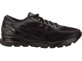 ASICS GEL Nimbus 21 Women's Running Shoes - BLACK / BLACK