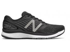 New Balance 860 v9 Women's Running Shoes - BLACK / WHITE