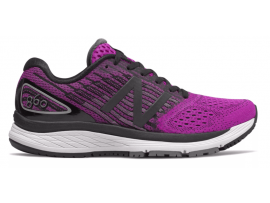 New Balance 860 v9 Women's Running Shoes - VOLTAGE VIOLET / BLACK