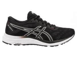ASICS GEL Excite 6 Men's Running Shoes - BLACK / WHITE