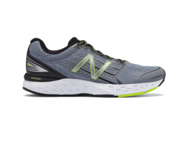 New Balance 680 v5 Men's Running Shoes - GREY / GREEN