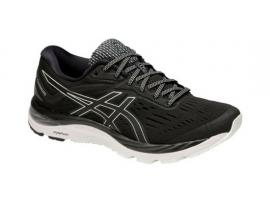 ASICS Cumulus 20 Men's Shoes - BLACK / WHITE
