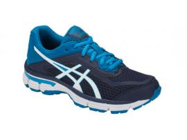 ASICS GT 2000 6 GS Boy's Running Shoes - PEACOAT / WHITE