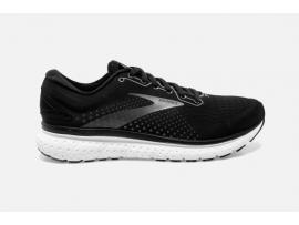 Brooks Glycerin 18 Men's Running Shoes - BLACK/WHITE