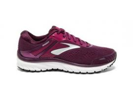 Brooks Adrenaline GTS 18 Women's Running Shoes - PURPLE / SILVER / PINK