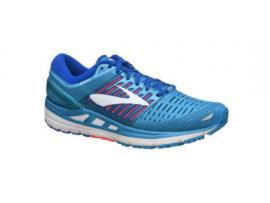 Brooks Transcend 5 Women's Running Shoes - BLUE / PINK / WHITE