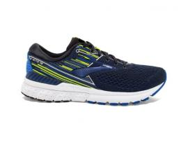 Brooks Adrenaline GTS 19 Men's Running Shoes - BLACK / BLUE / NIGHTLIFE