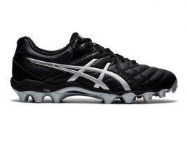 ASICS GEL Lethal 18 Football Boots - BLACK / PURE SILVER