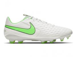 Nike Legend 8 Pro Football Boots - PLATINUM TINT / RAGE GREEN
