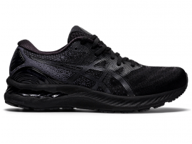 ASICS GEL Nimbus 23 Men's Running Shoes - BLACK / BLACK