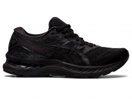 ASICS GEL Nimbus 23 Women's Running Shoes - BLACK / BLACK