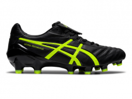 ASICS Lethal Testimonial 4 IT Football Boots - BLACK / SAFETY YELLOW