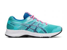 ASICS Contend 5 GS Girl's Shoes - ICE MINT / DEEP SAPPHIRE