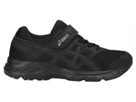 ASICS Contend 5 PS Running Shoes - BLACK / BLACK