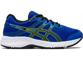 ASICS Contend 6 GS Boy's Running Shoes - TUNA BLUE / BLACK
