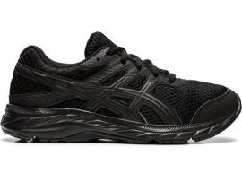 ASICS Contend 6 GS Running Shoes - BLACK / BLACK