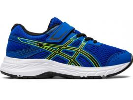 ASICS Contend 6 PS Boy's Running Shoes - TUNA BLUE / BLACK