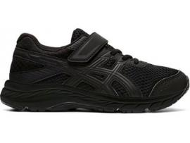 ASICS Contend 6 PS Running Shoes - BLACK / BLACK