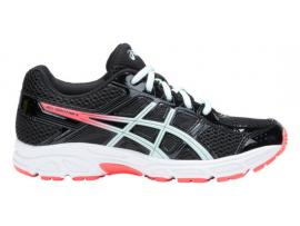 ASICS GEL Contend 4 GS Girl's Shoes - BLACK / SOOTHING SEA