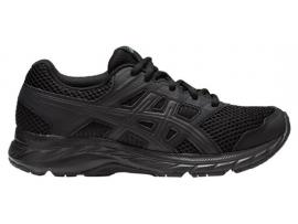 ASICS Contend 5 GS Running Shoes - BLACK / BLACK