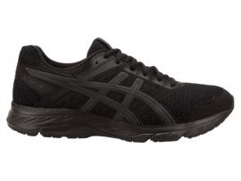 ASICS GEL Contend 5 Men's Running Shoes - BLACK / DARK GREY