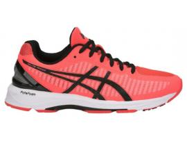 ASICS GEL DS Trainer 23 Women's Running Shoes - FLASH CORAL / BLACK / CORALICIOUS