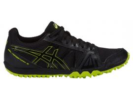 ASICS GEL Firestorm 3 Boy's Little Athletics - BLACK / NEON LIME