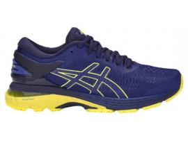ASICS GEL Kayano 25 GS Boy's Running Shoes - ASICS BLUE / LEMON SPARK