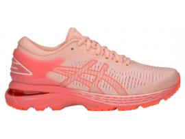 ASICS GEL Kayano 25 GS Girl's Running Shoes - BAKED PINK / PAPAYA