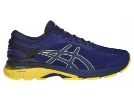 ASICS GEL Kayano 25 Men's Running Shoes - ASICS BLUE / LEMON SPARK