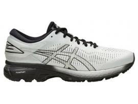 ASICS Kayano 25 Men's Shoes - GREY / BLACK (2E and 4E WIDTHS)