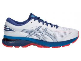 ASICS GEL Kayano 25 Men's Running Shoes - WHITE / BLUE PRINT