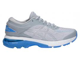 ASICS GEL Kayano 25 Women's Running Shoes - MID GREY / BLUE COAST (D WIDTH)