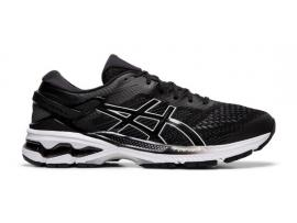 ASICS GEL Kayano 26 Men's Running Shoes - BLACK / WHITE (D & 2E WIDTHS AVAILABLE)