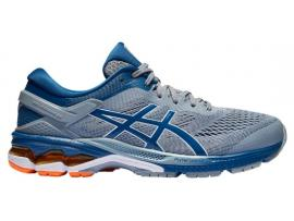 ASICS GEL Kayano 26 Men's Running Shoes - SHEET ROCK / MAKO BLUE