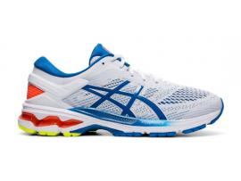 ASICS GEL Kayano 26 Men's Running Shoes - WHITE / LAKE DRIVE