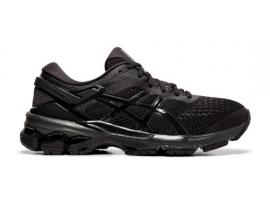 ASICS GEL Kayano 26 Men's Running Shoes - BLACK / BLACK (4E - EXTRA WIDE)