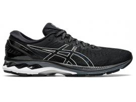 ASICS GEL Kayano 27 Women's Running Shoes - BLACK / PURE SILVER