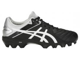 ASICS GEL Lethal Ultimate IGS 12 Football Boots - BLACK / WHITE / SILVER