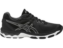 ASICS GEL Netburner Ballistic Women's Netball Shoes - BLACK / DARK GREY / SILVER