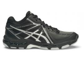 ASICS GEL Netburner Ballistic MT Women's Netball Shoes - BLACK / SILVER