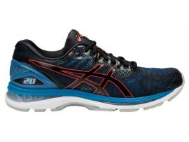 ASICS GEL Nimbus 20 Men's Running Shoes -  BLACK / AZURE
