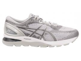 ASICS GEL Nimbus 21 Men's Running Shoes -  MID GREY / WHITE
