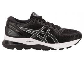 ASICS GEL Nimbus 21 Women's Running Shoes - BLACK / DARK GREY