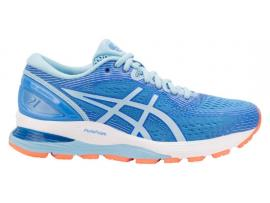 ASICS GEL Nimbus 21 Women's Running Shoes - BLUE COAST / SKYLIGHT